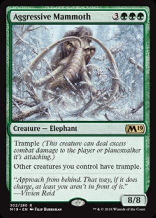 Aggressive Mammoth | M19