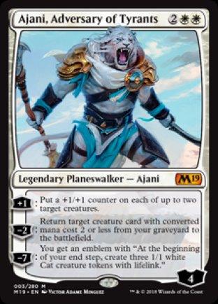 Ajani, Adversary of Tyrants | M19