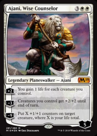 Ajani, Wise Counselor | M19