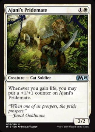 Ajani's Pridemate   M19