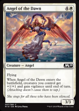 Angel of the Dawn | M19