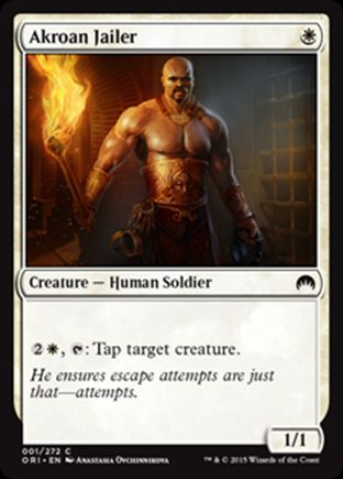 Akroan Jailer | Magic Origins