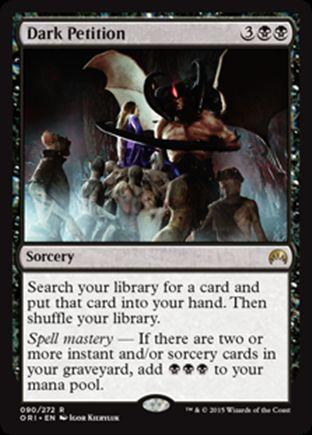 Dark Petition | Magic Origins