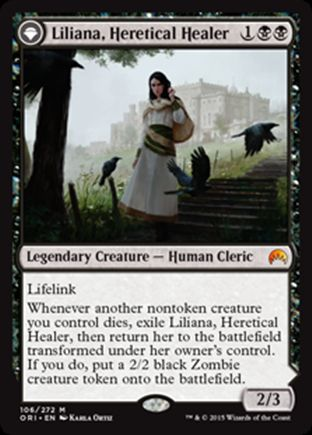 Liliana, Heretical Healer | Magic Origins