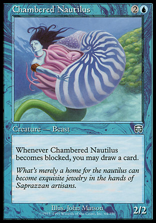 Chambered Nautilus | Mercadian Masques