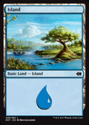 Island | Merfolk vs Goblins