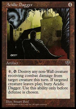 Acidic Dagger   Mirage