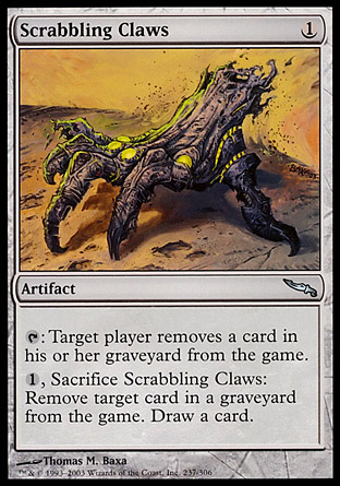 Scrabbling Claws | Mirrodin