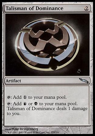Talisman of Dominance | Mirrodin