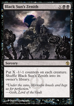 Black Sun's Zenith | Mirrodin Besieged