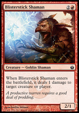 Blisterstick Shaman | Mirrodin Besieged