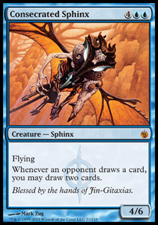 Consecrated Sphinx | Mirrodin Besieged