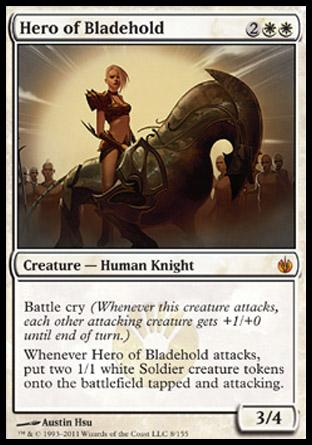 Hero of Bladehold | Mirrodin Besieged