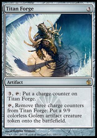 Titan Forge   Mirrodin Besieged
