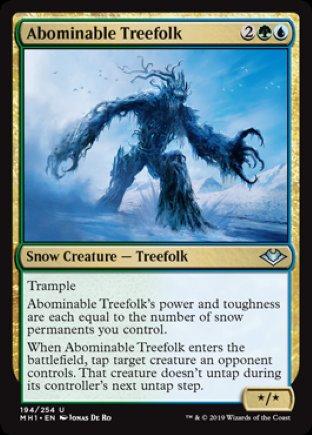 Abominable Treefolk | Modern Horizons