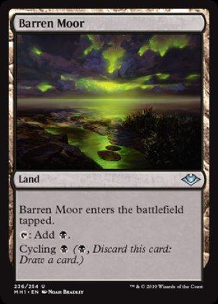 Barren Moor | Modern Horizons