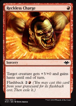 Reckless Charge   Modern Horizons