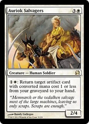 Auriok Salvagers | Modern Masters