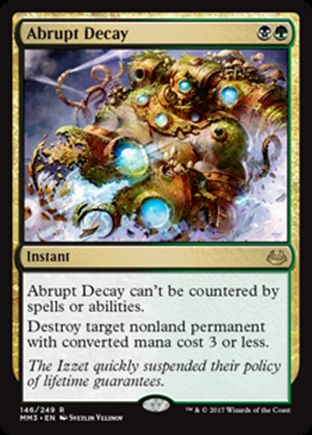 Abrupt Decay | Modern Masters 2017