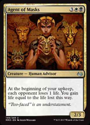 Agent of Masks | Modern Masters 2017