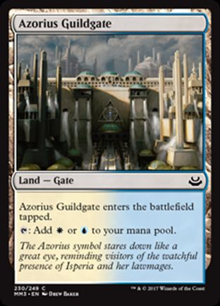 Azorius Guildgate | Modern Masters 2017