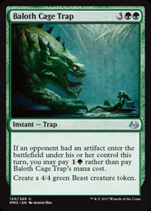 Baloth Cage Trap | Modern Masters 2017