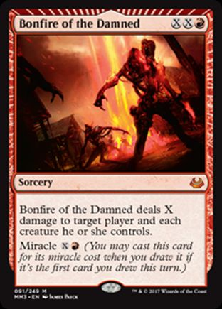 Bonfire of the Damned | Modern Masters 2017