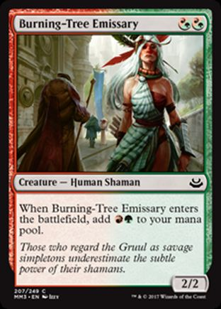 Burning-Tree Emissary | Modern Masters 2017
