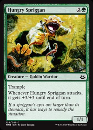 Hungry Spriggan | Modern Masters 2017