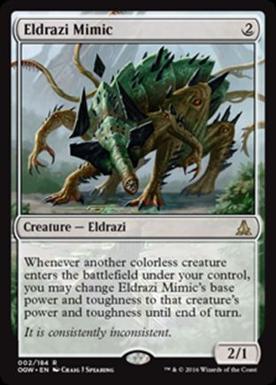 Eldrazi Mimic   Oath of the Gatewatch