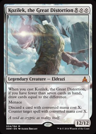 Kozilek, the Great Distortion | Oath of the Gatewatch