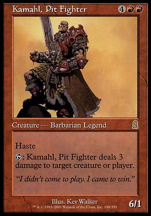 Kamahl, Pit Fighter | Odyssey