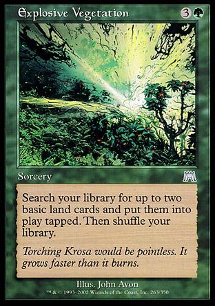 Explosive Vegetation | Onslaught