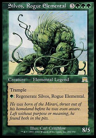 Silvos, Rogue Elemental   Onslaught