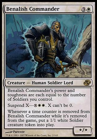 Benalish Commander | Planar Chaos