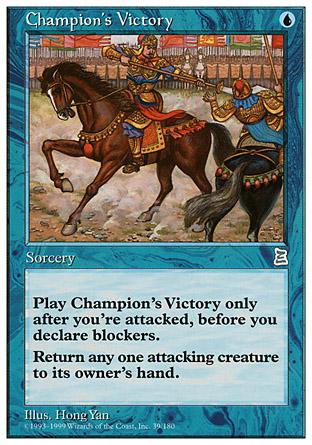 Champion's Victory | Portal III