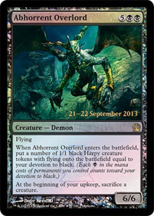 Abhorrent Overlord | Prerelease Events