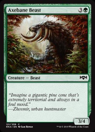 Axebane Beast | Ravnica Allegiance