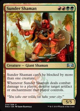 Sunder Shaman | Ravnica Allegiance