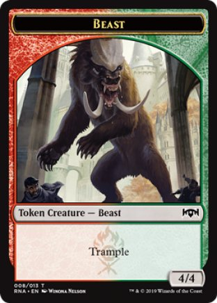 Beast token | Ravnica Allegiance