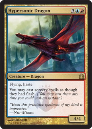 Hypersonic Dragon | Return to Ravnica