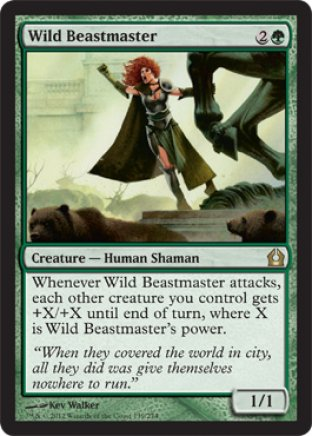 Wild Beastmaster | Return to Ravnica