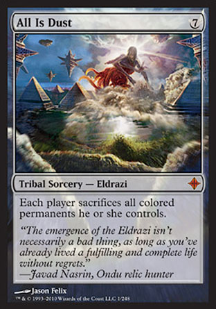 All Is Dust   Rise of the Eldrazi