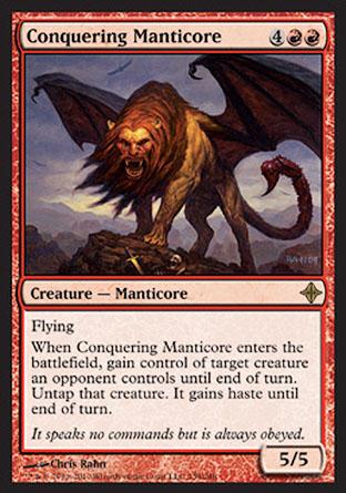 Conquering Manticore | Rise of the Eldrazi