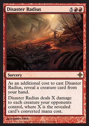 Disaster Radius   Rise of the Eldrazi