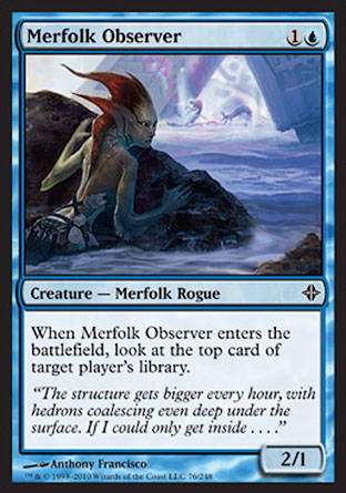 Merfolk Observer | Rise of the Eldrazi