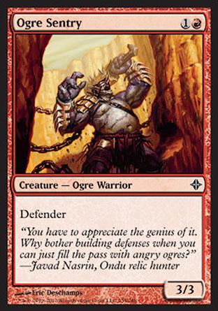 Ogre Sentry   Rise of the Eldrazi