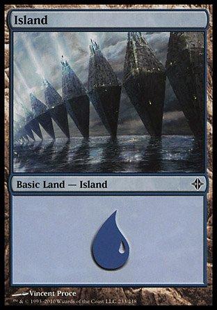 Island | Rise of the Eldrazi