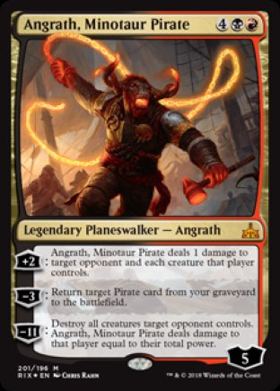 Angrath, Minotaur Pirate | Rivals of Ixalan