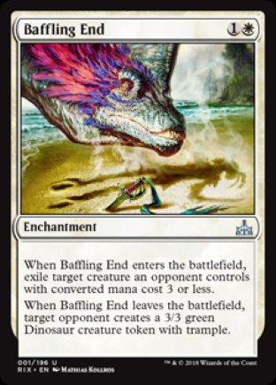 Baffling End | Rivals of Ixalan